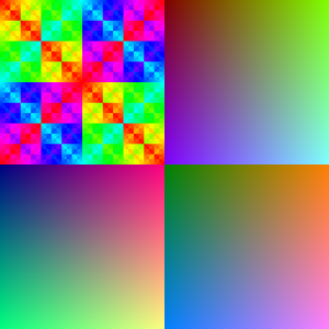 color patterns RGB888 (original)