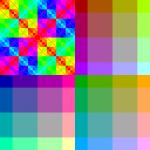 color patterns RGB222