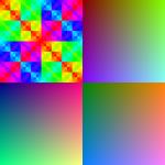 color patterns RGB565