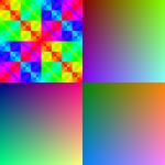 color patterns RGB666
