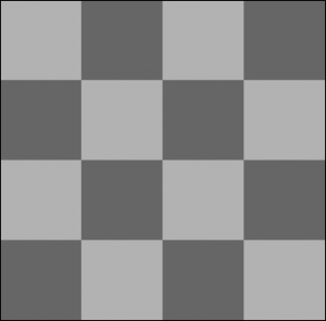 Normal checks dithering pattern
